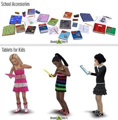 Around The Sims 4: School Accessories • Sims 4 Downloads