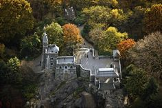 Belvedere Castle sur le rocher de Vista Rock à Central Park, Manhattan, New York , Etats-Unis.