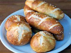 Laugenbrötchen Rezept: Laugenbrötchen mit Brezellauge wie vom Bäcker!