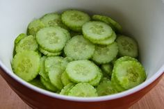 Kalyn's Kitchen: Recipe for Al's Famous Hungarian Cucumber Salad