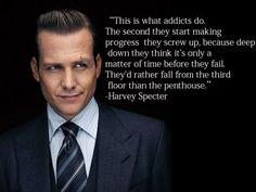 addiction is a cycle of self-sabotage