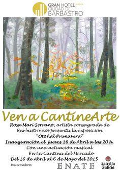 Cartel exposición Rosa Mari Serrano