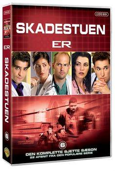 Skadestuen - sæson 6 (DVD)  Kr. 249,00  http://cdon.dk/film/skadestuen_-_s%c3%a6son_6-17078433#