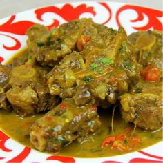 Coconut Curry Oxtails In The Oven (or slow cooker). | CaribbeanPot.com