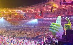 Cerimônia de abertura da Rio2016 (Foto: Época)