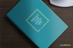 Free Hardcover Book Mockup to showcase your cover designs on realistic hardcover book. Amaze your clients with easy to use book cover PSD mockup for free.