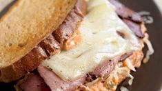 Low-Calorie Turkey Reuben Sandwich Recipe | Eat This Not That