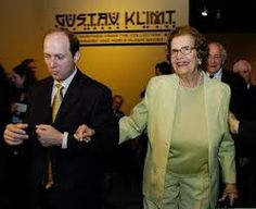 Klimt lawyer's fee funds museum - The Art Newspaper www.theartnewspaper.com E. Randol Schoenberg escorts Maria Altmann an exhibition at Lacma of paintings by artist Gustav Klimt that were looted by the Nazis during World War II