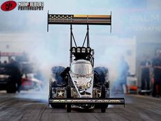 Tony Schumacher & Crew testing in Florida with the US Army T/F Dragster!