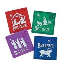 """Believe"" Slide Puzzles - OrientalTrading.com"