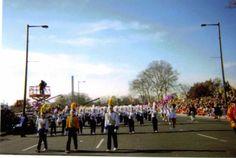 Butler Golden Tornado Marching Band - 2203 Philadelphia Thanksgiving Day Parade. http://www.bandtravel101.com/