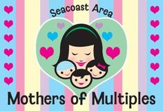 """local mothers groups part 1. samom"" Feb.16  Blog Post from Baby Go Round Buzz featuring the Seacoast Are Mothers of Multiples Organization"