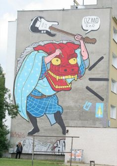 OZMO – The Italian essence of street art.