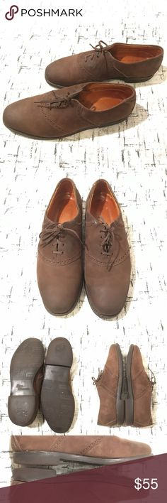 Allen Edmonds Brown Suede Oxfords Comfort Orthotic Gently used with no flaws Please see photos for exact details. Allen Edmonds Shoes Oxfords & Derbys