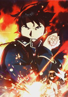 Roy Mustang. Sometimes I see pictures of him and I'm just like, whoa. I forget how awesome he is, and then, BAM.