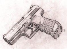 Cyberpunk in general and Cyberpunk 2020 in particular Dark Art Drawings, Art Drawings Sketches Simple, Pencil Art Drawings, Easy Drawings, Graffiti Drawing, Graffiti Art, Military Drawings, Sketch Tattoo Design, Gun Art