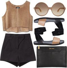 #black #beige
