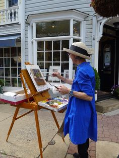 Janine Dunn Wade featured at  Patricia Hutton Galleries #artdays #bucksarts #doylestown