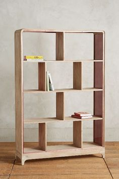 Rose Glass Medium Bookcase - anthropologie.com #anthrofave