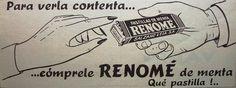 Renomé Pastillas 1960