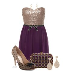 """Polka Dot Party"" by christa72 on Polyvore"