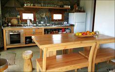 COCINA DE CAMPO #diseño #arquitectura #deco #kitchen #countrystyle #design #interiordesign #housedeco #home #house