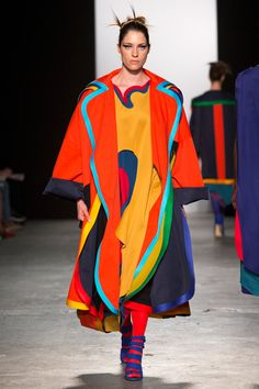 rainbowfashion.quenalbertini: Chloe McGeehan | Westminster BA 2015