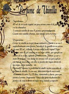 Trastos de Bruja: Perfume de Violetas