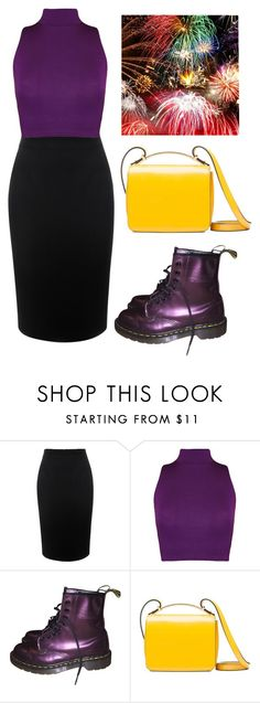 """""""1980's fireworks"""" by chooseyourstyle321 on Polyvore featuring Alexander McQueen, WearAll, Dr. Martens and Marni"""
