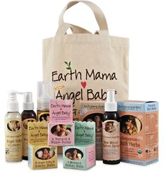 Birth & Baby Kit. Your birth bag's ready, but don't forget to pack what you need most to take care of your hurty mama parts after you've pushed a baby into the world! Earth Mama Angel Baby makes it easy with safe, natural products that comfort and heal a brand new mama, as well as pure, organic products for your brand new baby.