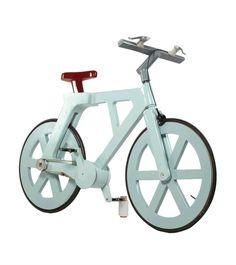 Excelente inciciativa!...Y esta mostra la bici !D...Llegan las bicicletas ecológicas de cartón