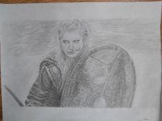 Lagertha Lothbrok  #vikings #lagertha #drawing #viking #middleages
