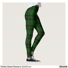 Forbes Green Tartan Leggings
