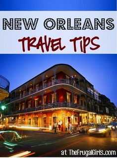 38 Fun Things to See and Do in New Orleans!  Interesting insights from people who have travelled to NOLA recently.