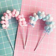 Pompom cake topper for birthdays. Events by & party supplies Happy Birthday Parties, Birthday Diy, Baby Shower Cakes, Cloud Cake, Diy Cake Topper, Diy Birthday Decorations, Homemade Party Decorations, Cake Decorating Supplies, Flag Decor