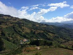 Tejar, Cartago, Costa Rica. Taking a break from a long ride with this amazing view... I needed a picture of it ❤️