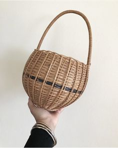 A personal favorite from my Etsy shop https://www.etsy.com/listing/506851105/vintage-wicker-basket