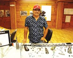 Oglala Lakota College's summer art series 'A Vision of Our History by Lakota Artists' featured the work of Kevin Pourier in July 2016.