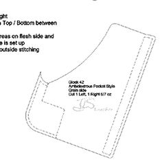 Free instant download pdf 1911 holster pattern makes a