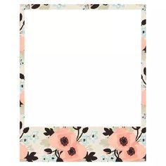 free polaroid frame printables pinterest polaroid frame
