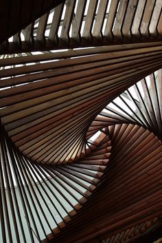 Cool ceiling design at the Museum of Anatolian Civilisations, Ankara, Turkey by Alaskan Dude, via Flickr