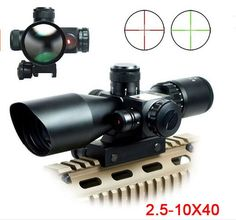 Just in: 2.5-10X40 Riflescope Illuminated Tactical Riflescope with Red Laser Scope Hunting Scope http://www.ghilliesuitshop.com/products/2-5-10x40-riflescope-illuminated-tactical-riflescope-with-red-laser-scope-hunting-scope?utm_campaign=crowdfire&utm_content=crowdfire&utm_medium=social&utm_source=pinterest