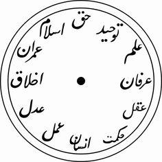 Leonhard Euler, Islamic Patterns, Clock Art, Wood Clocks, Islamic Art, Wood Watch, Diy And Crafts, Calligraphy, My Favorite Things