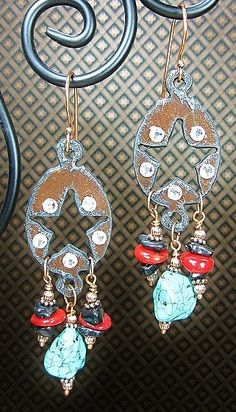 RUSTIC Cowgirl Gypsy Star Statement Rodeo by CayaCowgirlCreations, $20.00