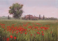 Painting Tuscany: PAINTING THE VAL D'ARBIA