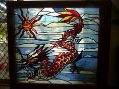 Dragon Stained Glass Window Capalaba Brisbane South East image 1