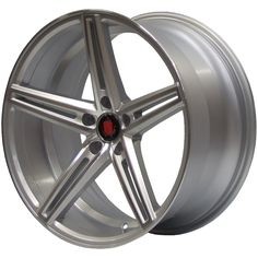 AXE EX14 SILVER POLISHED FACE alloy wheels with stunning look for 5 studd wheels in SILVER POLISHED FACE finish with 20 inch rim size