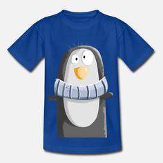 Cool Penguin I Cartoon I Penguins Cartoon T-skjorte barn | Spreadshirt Penguin Cartoon, Penguins, Cool Stuff, Design, Penguin