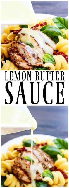 LEMON BUTTER SAUCE has two key ingredients lemon and butter; need I say more? A creamy, buttery sauce with a mild tang from the fresh lemon juice. #lemon #butter #lemonbutter #sauce #copycatrecipe