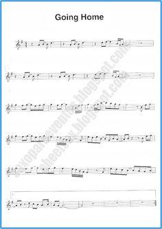 """Παρτιτούρα του """"Going Home"""" του Kenny G   Δωρεάν μουσική φύλλο για σαξόφωνο"""
